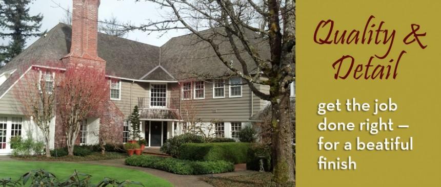 Portland Painters House Painters Residential Painters